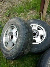 2 Chevy 1500 Rims and  tires with beauty caps. Pequea, 17565