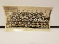 Antique High School Football Picture Rare St. Charles, 60174