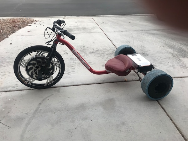 Electric drift trike local motors verrado