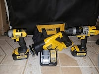 New 20v Dewalt COMBO SET