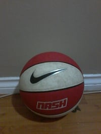 red and white Nash Nike basketball Surrey, V3R 1W1