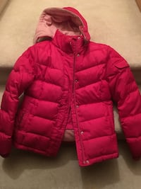 Girls Puff jacket with removable hood size XL Burnaby