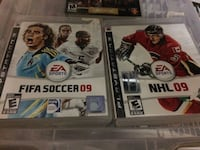 two Sony PS3 games Langley, V3A 4H9