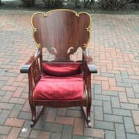 Antique Ornate Victorian Carved Walnut Rocking Chair Edmonton, T6C 4C8