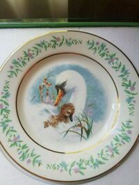 Two Avon Gentle Moments Collectible Plates Oxford