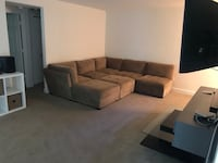 7 piece suede couch Annandale, 22003