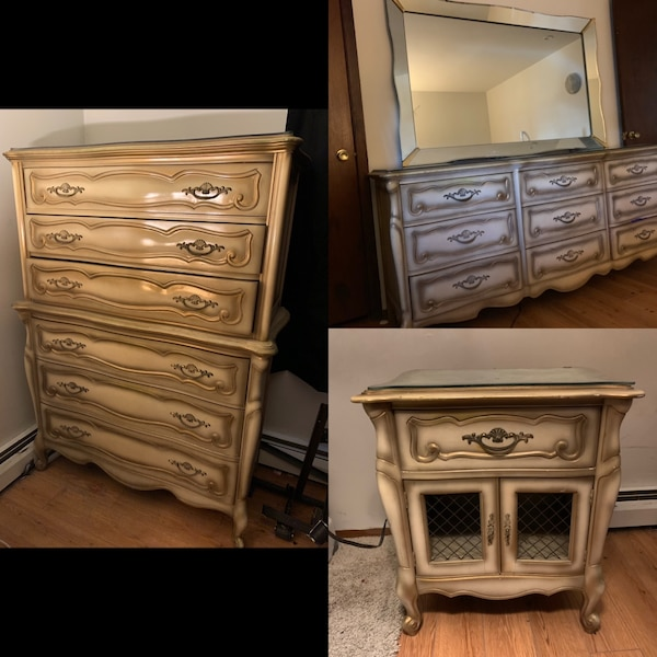 1940 French Provincial bedroom furniture