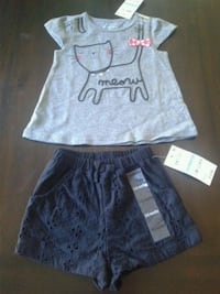 First Impressions Outfit Black & Gray/Cat  Pittsburg, 94565