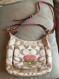 Coach handbag, almost new! SF