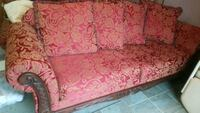 Almost new sofa with decorative wood  Lehigh County, 18052