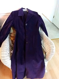 long coat purple suede size 12  Chesapeake Beach, 20732