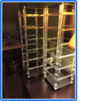 Earring display stands with earring cards Watkins Glen