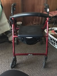 Never been used walker with seat. Paid $140 asking $50.00 Canton, 61520