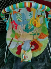 baby's multicolored bouncer Stockton, 95206