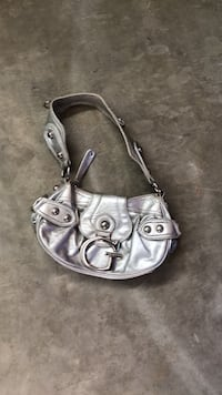 women's gray leather shoulder bag Temecula, 92591
