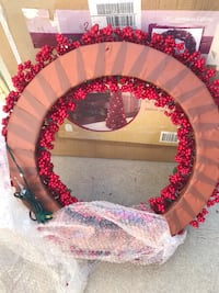 pink and black floral wreath Los Angeles, 91344