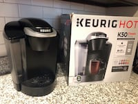 Black keurig coffeemaker with box Fairfax