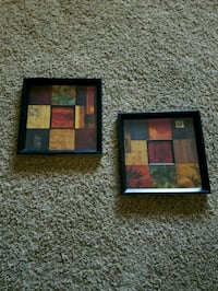 two black wooden photo frames China Grove, 28023