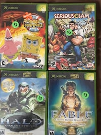 Original Xbox games ($5 each) Winnipeg, R3K 0P7