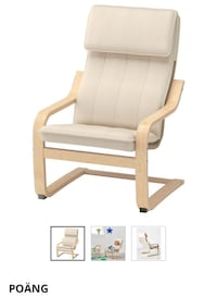 Ikea Poang Adult Armchair with new cushion Mississauga, L5A 4G6