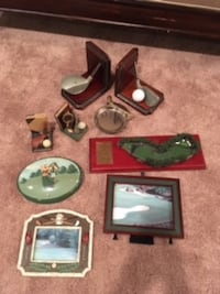 Misc. golf themed items Columbia