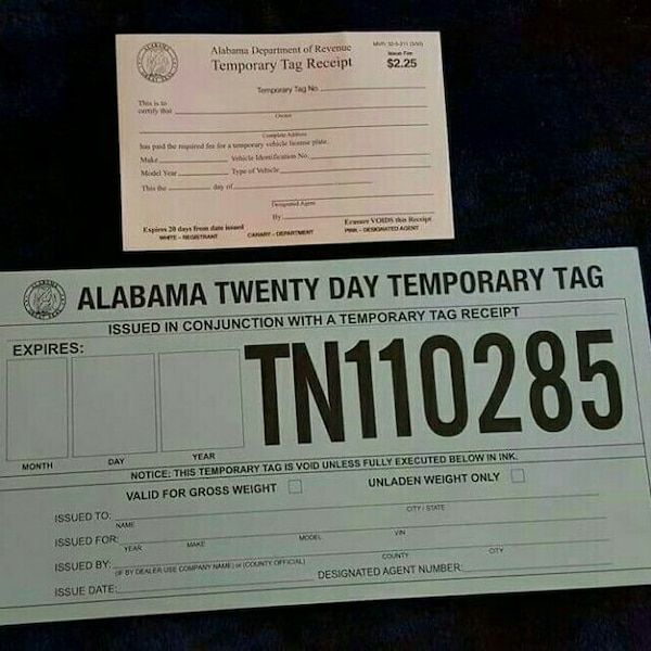 Dealer Temporary Plates Expire