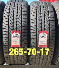 2 used tires 265/70/17 Goodyear HT Houston, 77047