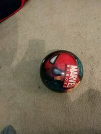 Spiderman bowling ball 8lb great for kid