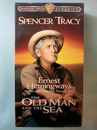 The Old Man and the Sea vhs