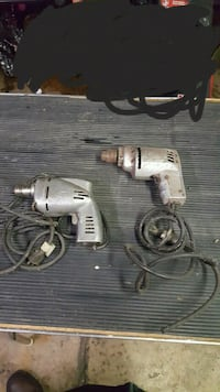 1/4 Drive electric power drills for parts Glen Ellyn