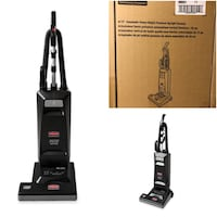 RUBBERMAID COMMERCIAL EXECUTIVE SERIES UPRIGHT VACUUM CLEANER, 15-INCH, BLACK Markham