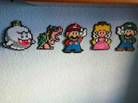 Hama beads Super Mario Bros Madrid, 28044