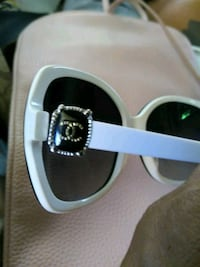 white and black channel sunglasses Los Angeles, 90061