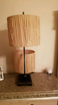 brown and black table lamp Hanover, 21076