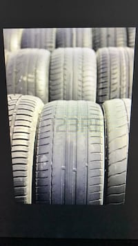 four white auto tire set Fairfax, 22032