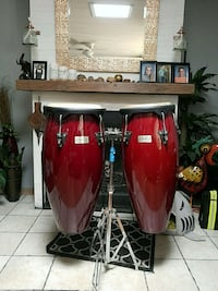 Bongo drums would trade for go kart