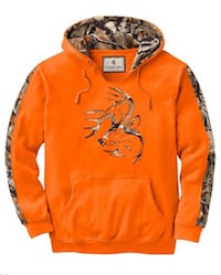 Orange whitetail hoodie-w/tags Murfreesboro, 37127