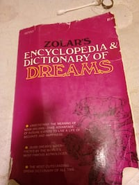 Zolar's Encyclopedia and Dictionary of Dreams book