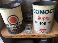 Large antique oil cans, $30 each Sunset, 70584