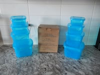 *New* Taken Out for Photos (x8) Avon Food Storage  containers with attached lids $10 PU Morinville  Morinville
