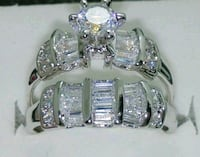 silver-colored and purple gemstone ring Banning, 92220