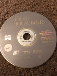 'The Cider House Rules' DVD Naperville, 60540