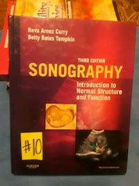 (10)Sonography: Introduction To Normal Structure and Function. San Fernando, 91340