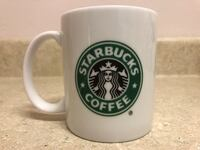 2005 Starbucks Coffee Mug White Green Mermaid Logo 12oz Corrales, 87048