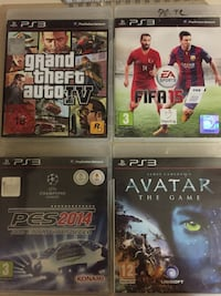 PS3 gta4-fifa15-pes2014-avatar İlkadım, 55070