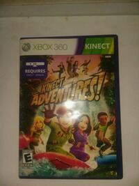 Xbox 360 Kinect Adventures game case Los Angeles, 91331