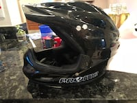 black Prome dirt bike helmet Reston, 20191