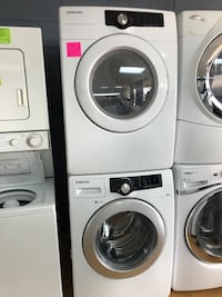 Samsung white stackable washer and dryer bundle Woodbridge, 22191