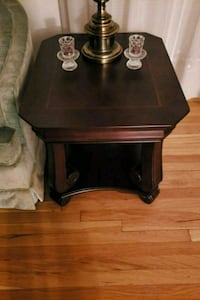 black wooden side table with drawer Annandale, 22003