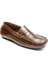 unpaired brown leather penny loafer Arlington, 22204